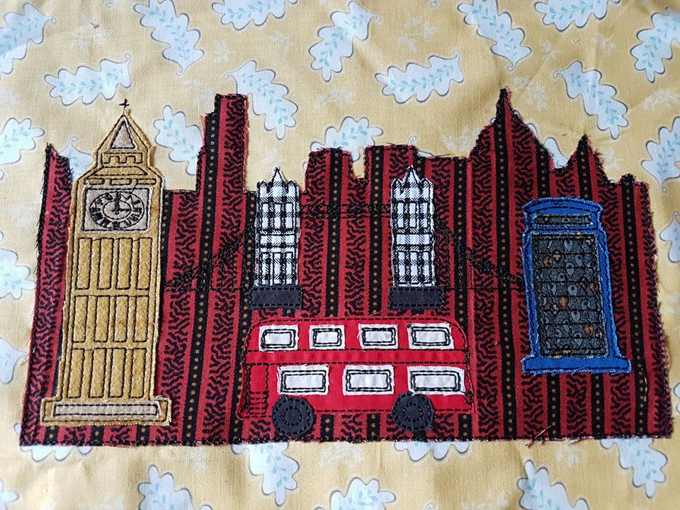 London Scene by Pixie Willow Patterns