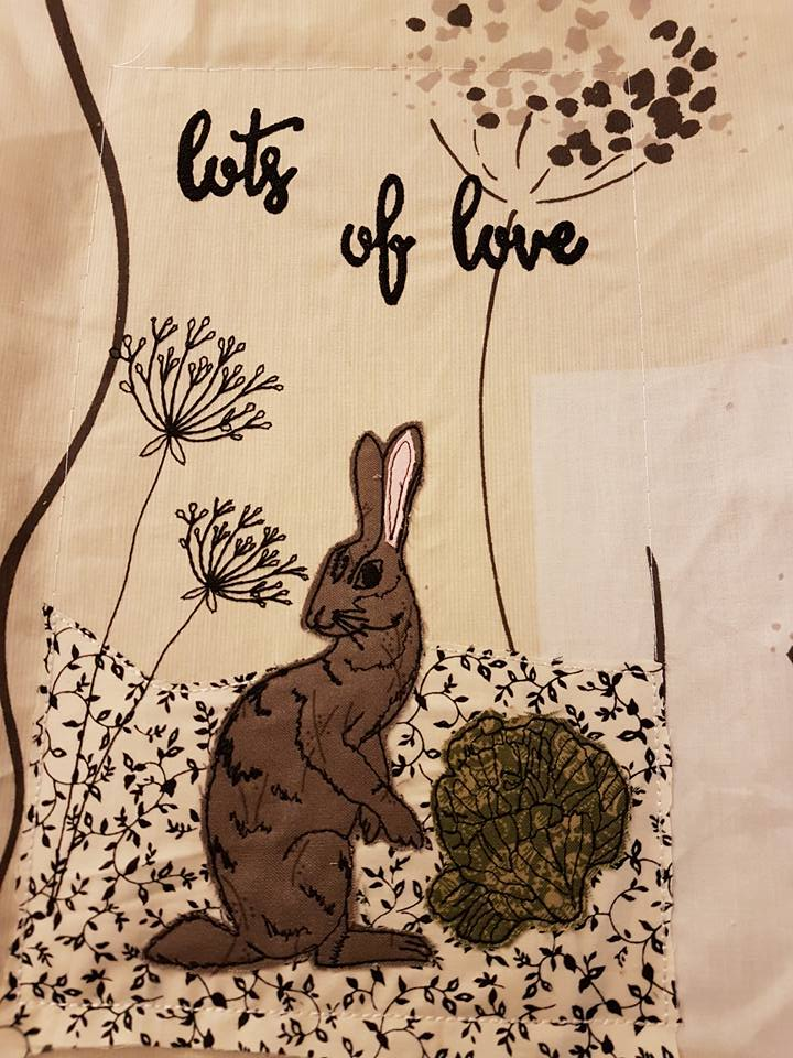 Pixie Willow Patterns Hare