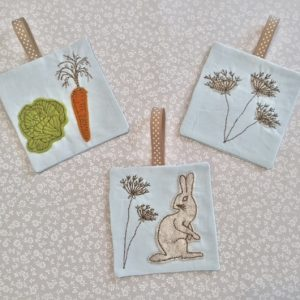 Pixie Willow Patterns Hare Bags